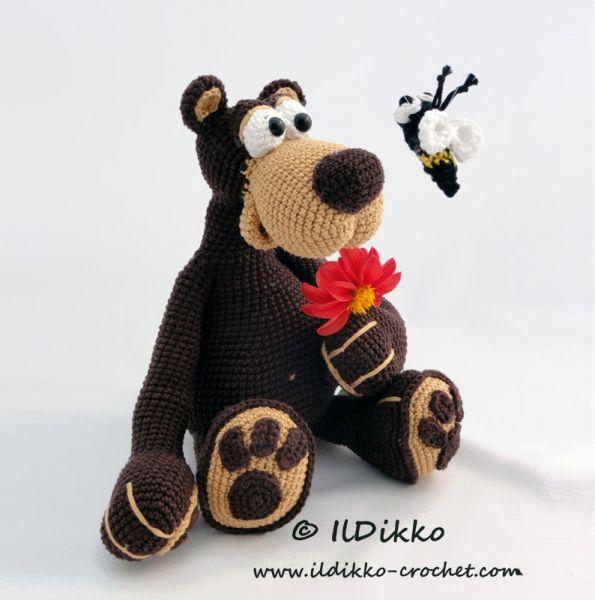 Bernard The Bear Amigurumi Pattern