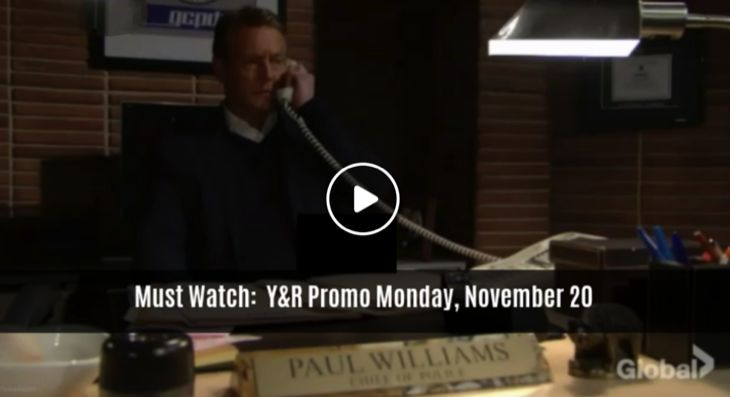 WATCH: The Young And The Restless (YR) Preview Video Monday, November 20 – Paul Calls With Shocking News