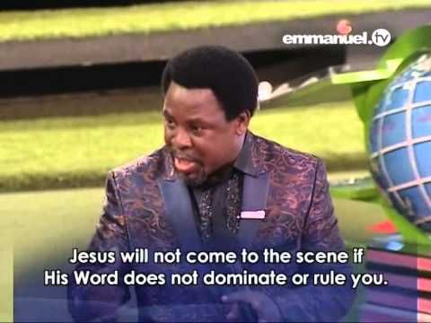 T.B JOSHUA 2015: Powerful, Quotable Quotes #1, Emmanuel TV,SCOAN 2015 - YouTube