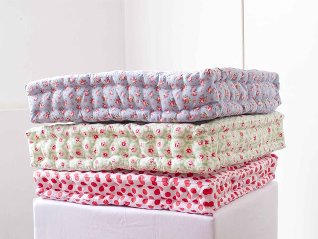 Quilted floor cushion tutorial