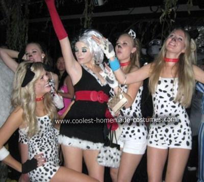 coolest homemade cruella deville and dalmatians halloween costume ideas - Cruella Deville Halloween Costume Ideas