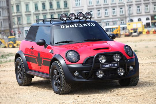 Dsquared2 x Mini Cooper S 'Life Ball 2011′