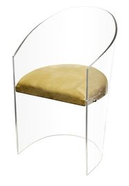 Float - Contemporary, Transitional Upholstery / Fabric, Acrylic Seating by Aura