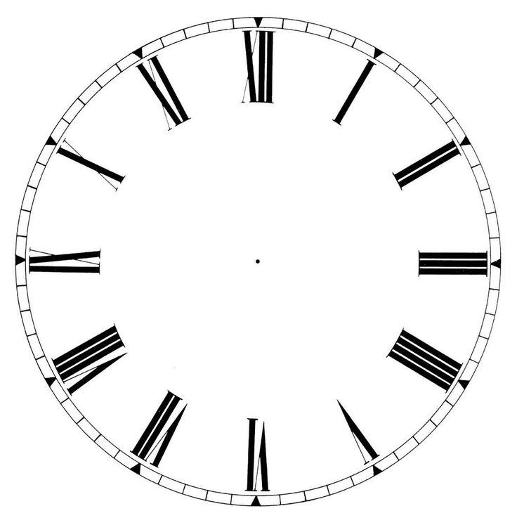 Ziffernblatt zum ausdrucken  65 besten Циферблаты Bilder auf Pinterest | Vintage-Uhren, Uhren ...