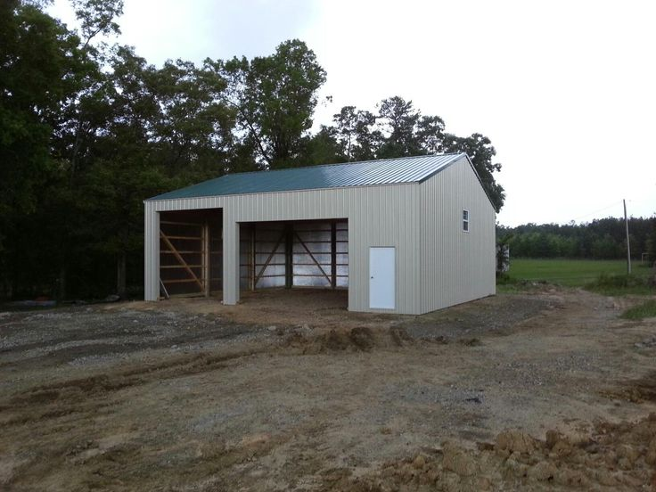 36x40x14 Post Frame Building Post