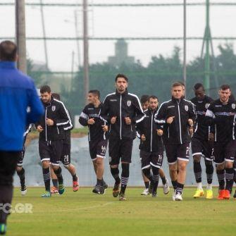 Εικόνες από την προπόνηση - PAOKFC