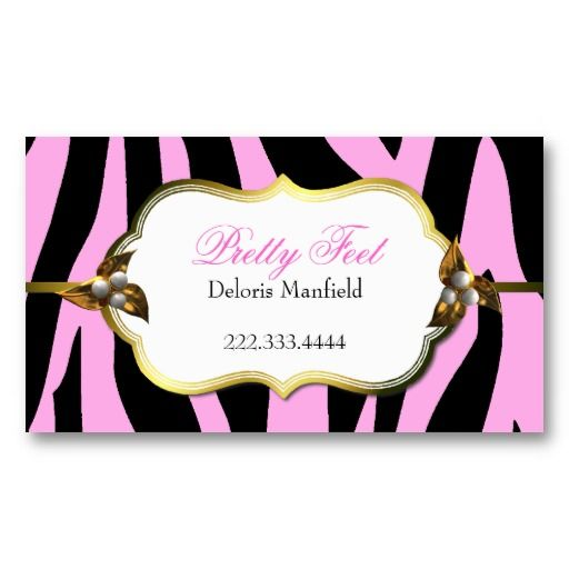 26 best pink zebra business cards images on pinterest pink zebra pink and black zebra print business card reheart Gallery