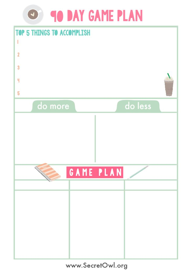 76 best Lifeu0027s Plan images on Pinterest Productivity, Calendar - life plan template