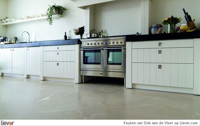 Ode aan de Vloer Keuken - Ode aan de Vloer gietvloeren - foto's & verkoopadressen op Liever interieur