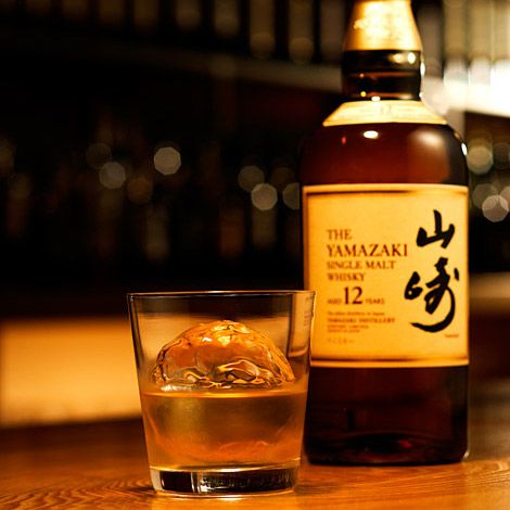 Suntory Yamazaki Whiskey -- Born from the pure waters of the Vale of Yamazaki and handcrafted at Japan's oldest distillery, Suntory Yamazaki Whisky is a great way to wind down after a hard day at the office. Aged for either 12 ($40) or 18 years ($100), Yamazaki has a lengthy, dry finish, with the 12-year variety offering a delicate, mellow taste and the 18-year providing a spicier punch, with cherry-like tones. For maximum enjoyment, serve on the rocks with an ice ball