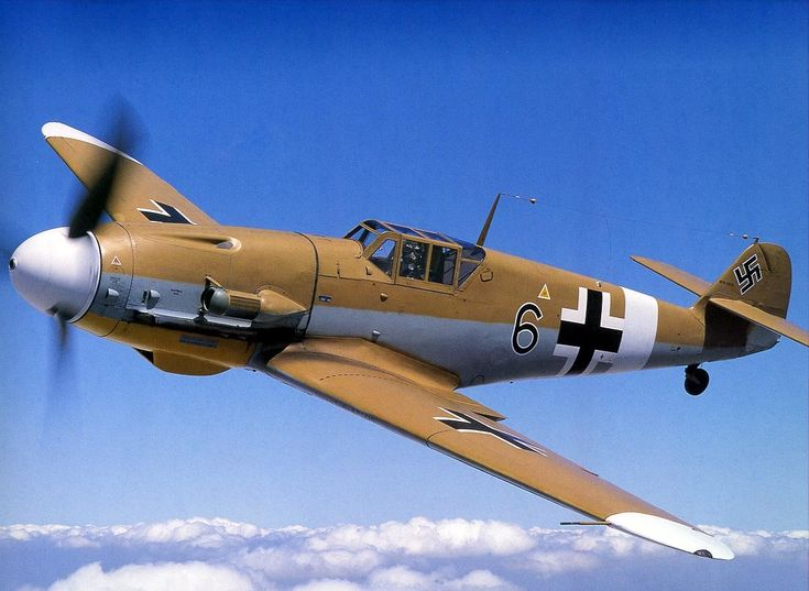 The ME 109 became the backbone of the Luftwaffe fighter force in World War II and without doubt was one of the most successful fighter aircraft of the war.