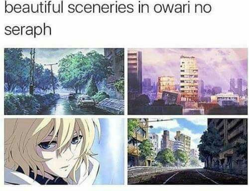Mika is my favorite character in the show. I think Seraph of the end would be even better if told from emo Mika's view.