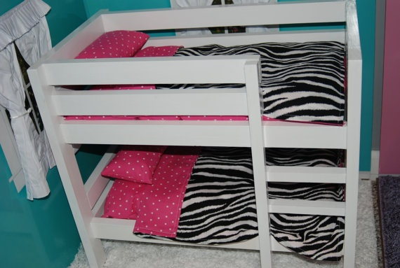 Inch Doll Bunk Bed Bedding