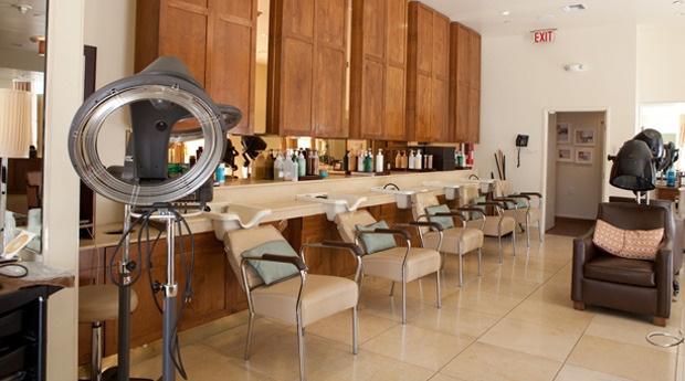 CURE Salon & Spa shampoo bowls