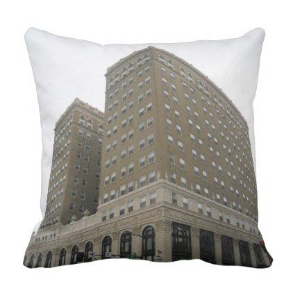 The Hotel Duluth Polyester Throw Pillow - home gifts ideas decor special unique custom individual customized individualized