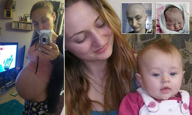 Mother-of-two who thought her cancer had returned discovers she is pregnant | Daily Mail Online