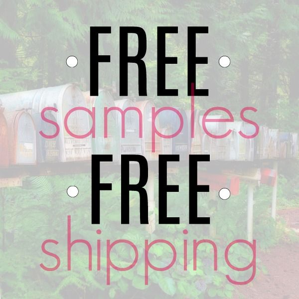 free samples by mail no surveys no catch free shipping