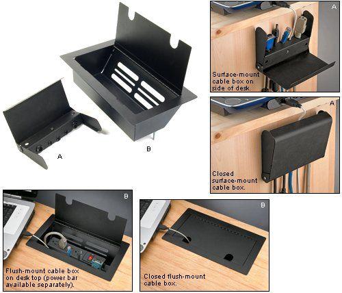Gaming Desks | Desk, Diy desk, Cable management