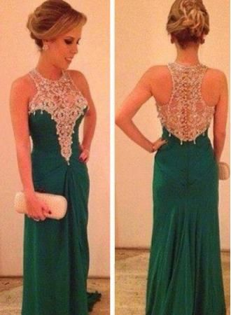 $139--Special Design 2014 Prom Dress High neck FROM 27DRESS.COM