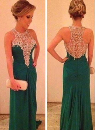 $139--Special Design 2014 Prom Dress High neck FROM 27DRESS.COM