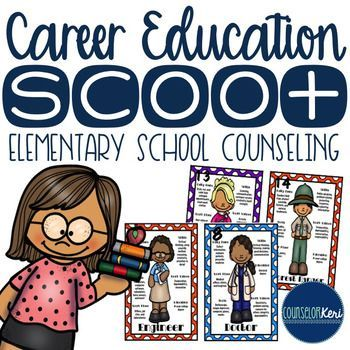 Career Education/Community Helper Scoot... by Counselor Keri | Teachers Pay Teachers