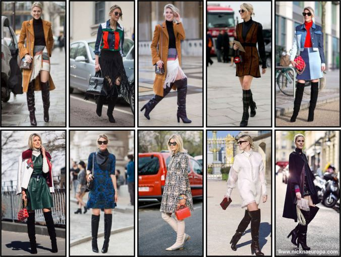 boots sofie valkiers street style - nick na europa
