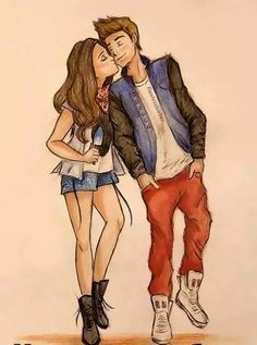 cute couple drawings - Google Search | Couple Drawings ...