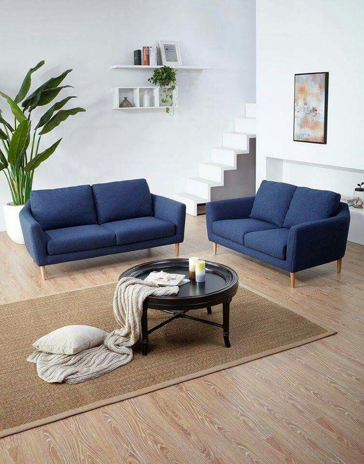 Cute Blue Sofa P R
