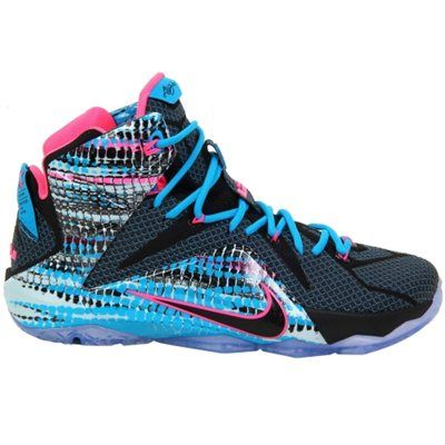 Nike LeBron XII '23 Chromosomes' Basketball Shoe- These are so different..I love them!