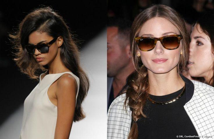Olivia Palermo y Roberto Torreta: ¡las gafas retro se van de desfile!