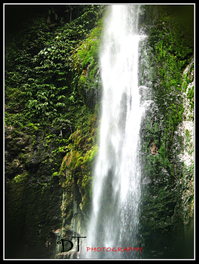 Two Colors Waterfall, North Sumatra, Indonesia.