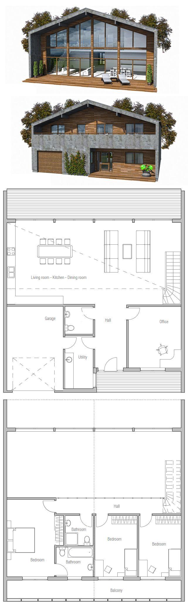 Modern Contemporary Home Plan