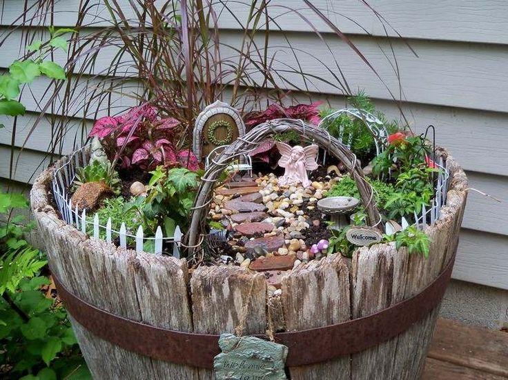 253 best garden inspiration - porch decor   Garten und Terrasse - gartendekoration aus holz
