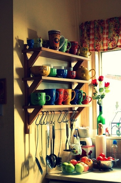 Looking for coffee mug storage solutions!