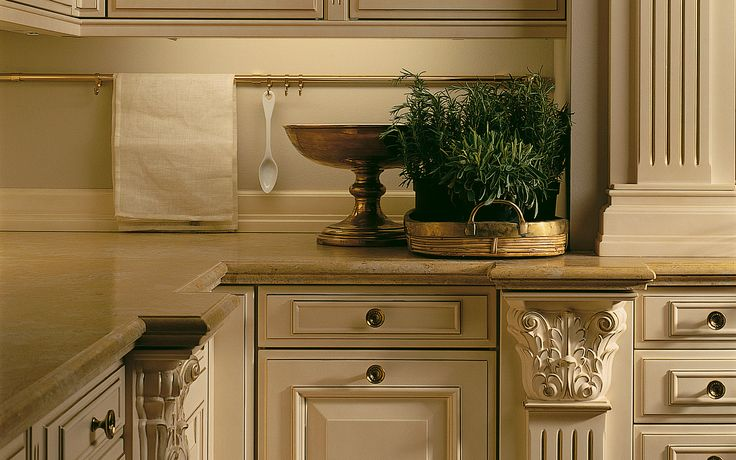 Classic kitchen with handles: PCR | siematic.com