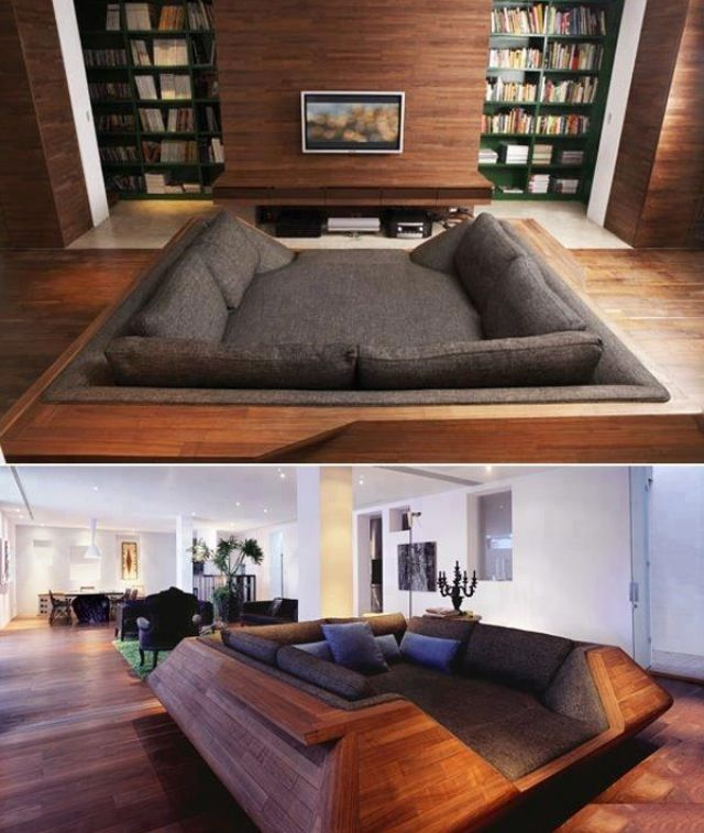 Wow! What a great snugg area!