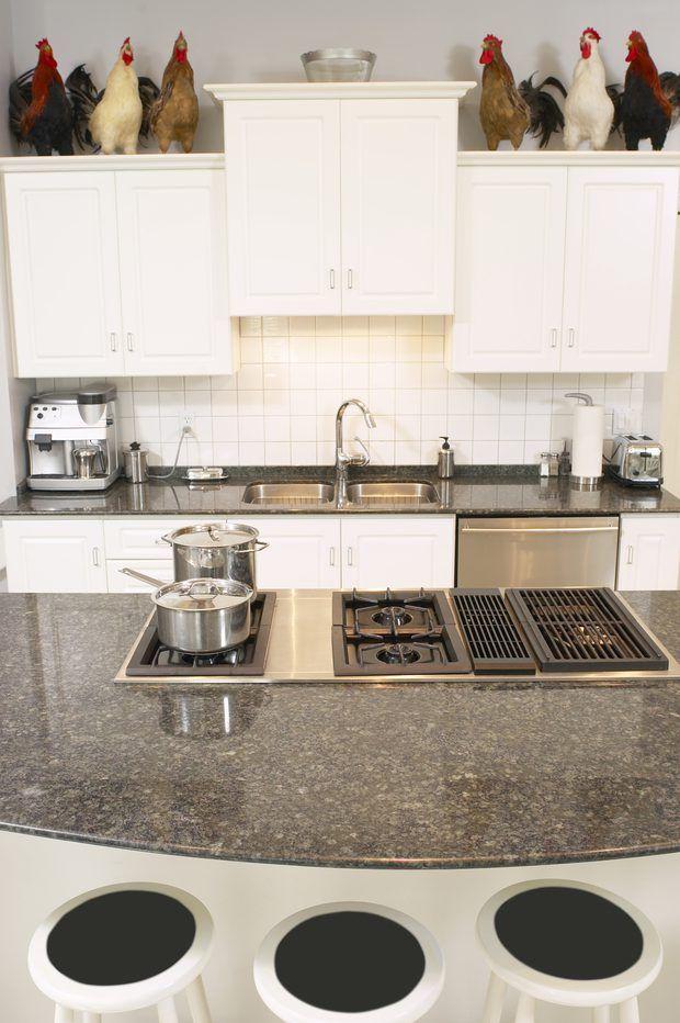 Espesor estándar de las encimeras de granito de la cocina