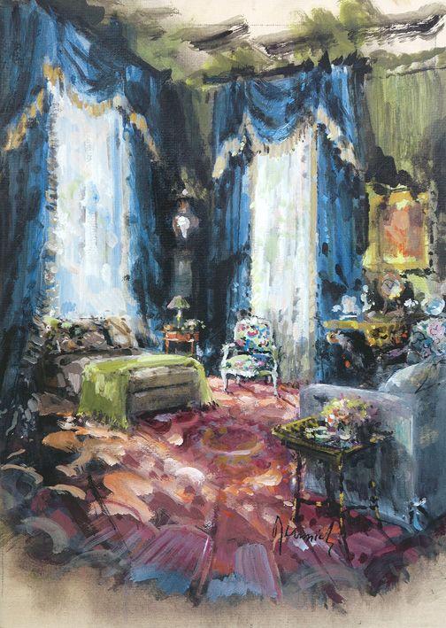 Great Lady Decorators, Adam Lewis.  Bunny Williams.   Jeremiah Goodman.