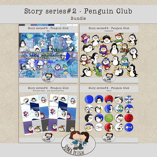 SoMaDesign PenguinClub Bundle