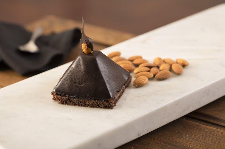 Pirámide de chocolate