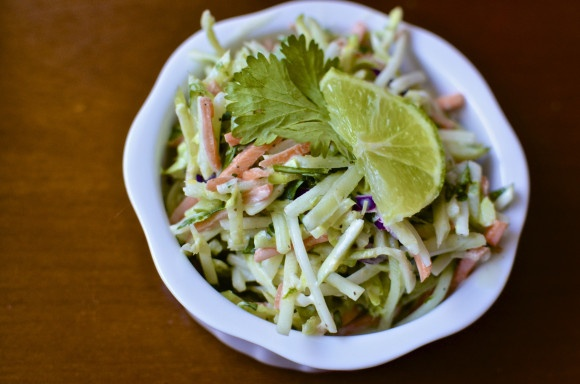 Tri-Color Slaw With Lime Dressing Recipes — Dishmaps