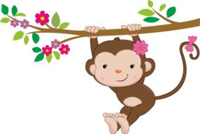 Pretty Pink Girly Jungle Animals - Minus