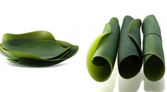 Japanese Leaf Plates