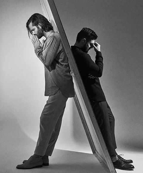 Cool photo...Jared and Jensen in Rogue Magazine