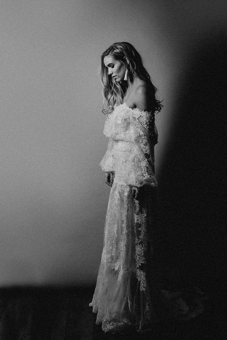bohemian wedding dress from designer yolan cris