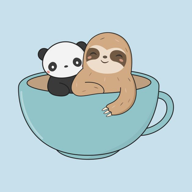 Pin by Lily Ayres on sloths Cute cartoon drawings, Cute