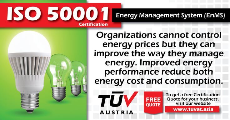 Reduce cost of energy consumption with ISO 50001 Certification. For further queries how we can assist you: tuvat.asia/get-a-quote, or call Pakistan: +92 (42) 111-284-284   Bangladesh +880 (2) 8836404   Sri Lanka +94 (11) 2301056 to speak with a representative. #ISO #TUV #certification #inspection #pakistan #bangladesh #srilanka #lahore #karachi #colombo #dhaka #iso50001