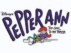 Pepper Ann. 1997. Walt Disney Television Animation. USA. (Who is SHE and why does she have her own song?)