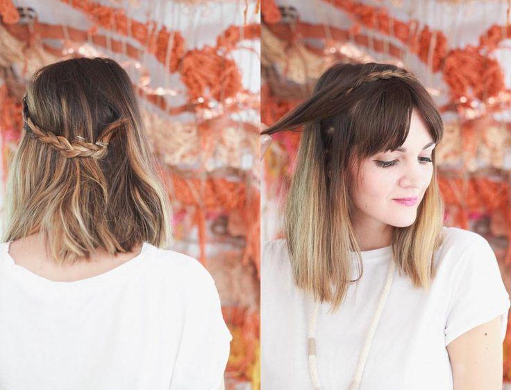 nice Красивые прически на средние тонкие волосы (50 фото) — Новый образ на каждый день Читай больше http://avrorra.com/krasivye-pricheski-na-srednie-tonkie-volosy-foto/