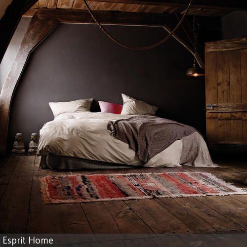 Schlafzimmer braune wand  Die 25+ besten Ideen zu Grau braunes schlafzimmer auf Pinterest ...